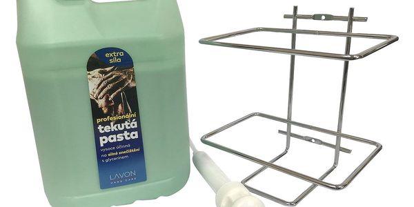 Hygienické mýdlo s panthenolem, antimikrobiální přísada3