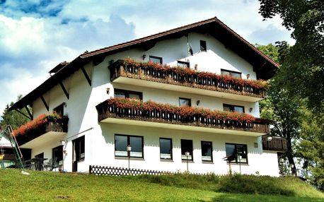 Bavorská strana Šumavy s polopenzí a saunou