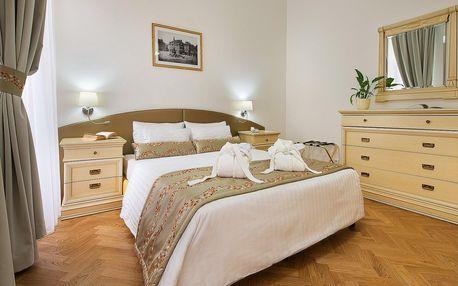 Luxusní pobyt v apartmá v centru Prahy se snídaní
