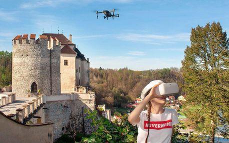 Virtuální vyhlídkový let dronem, kde budete chtít