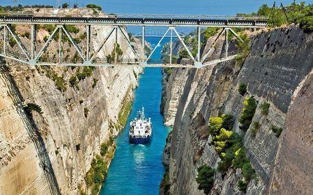 Řecko - Attika letecky na 8-11 dnů, strava dle programu