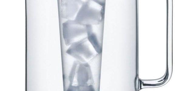 Simax Skleněný džbán s vložkou, 2,5 l