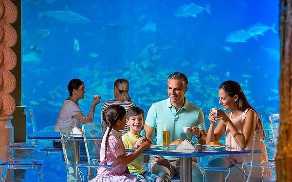 Hotel Atlantis The Palm, Dubaj, letecky, snídaně v ceně4