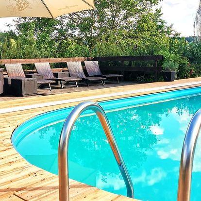 Pobyt u Kašperských Hor s polopenzí a bazénem