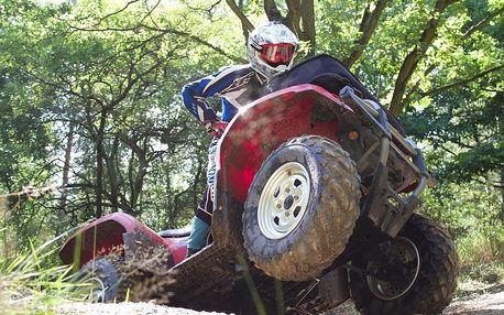 Jízda na čtyřkolce ATV na specializované trati (i pro děti)