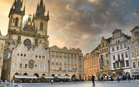 Outdoorová únikovka Pražské toulky pro 2–5 hráčů