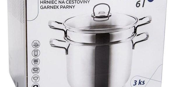Orion Hrnec na těstoviny ANETT 6 l, 3 díly, poklice2