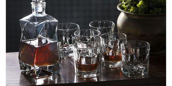 Altom 7dílná sada karafy a sklenic na whisky2