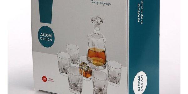 Altom 7dílná sada karafy a sklenic na whisky3