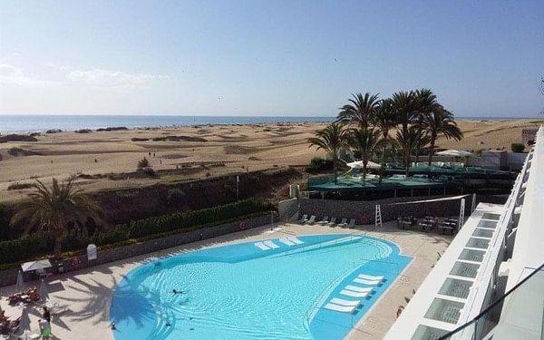 Santa Mónica Suites Hotel, Gran Canaria, Kanárské ostrovy, Gran Canaria, letecky, polopenze2