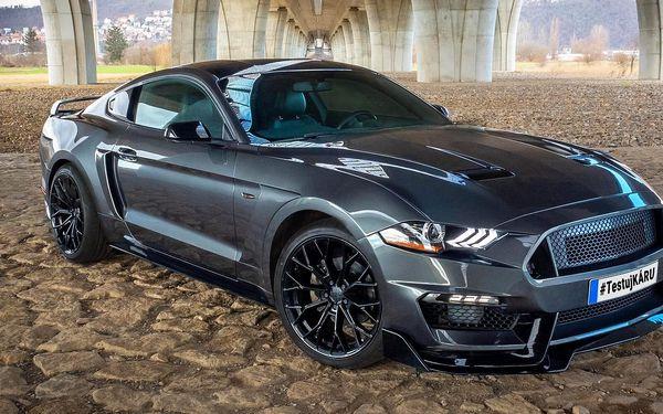 Zkroťte Mustanga: 20–50 min. jízdy i 3hod. pronájem
