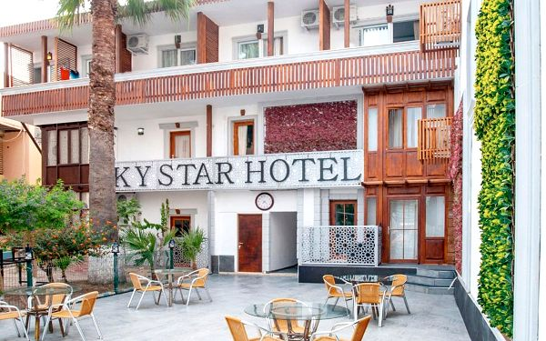 Hotel Sky Star and Life Bodrum, Bodrum (oblast), letecky, all inclusive4