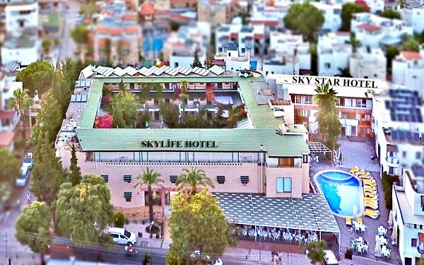 Hotel Sky Star and Life Bodrum, Bodrum (oblast), letecky, all inclusive5