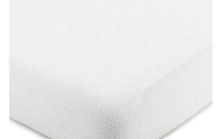 4Home froté prostěradlo bílá, 180 x 200 cm