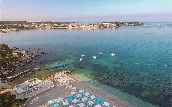 Valamar Parentino Hotel, Istrie, vlastní doprava, snídaně v ceně5