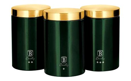 Berlinger Haus 3dílná sada dóz na potraviny Emerald Collection