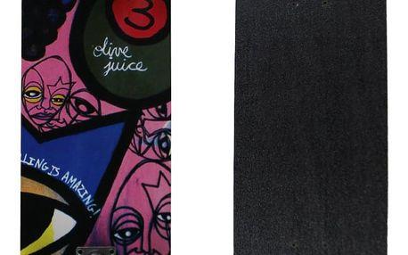 Skateboard SPARTAN Circle Star - Juice