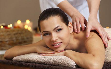 Výběr ze 3 druhů masáží: 45 nebo 60 minut