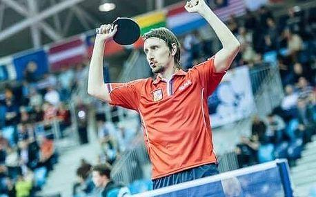Stolní tenis s Dmitrijem Prokopcovem
