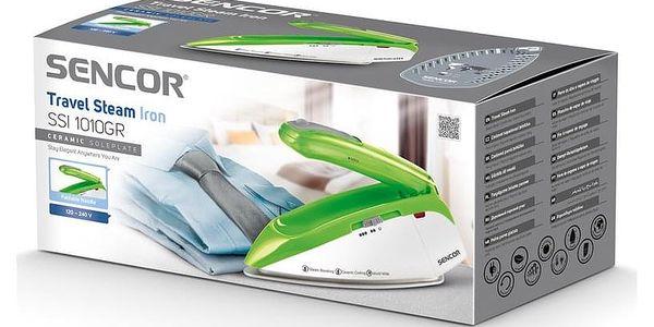 Žehlička Sencor SSI 1010GR zelená5