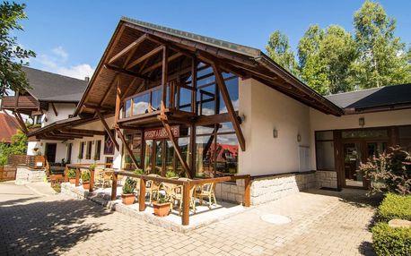 Pension Venus v Harrachově s polopenzí, saunou a vstupy do dětského centra