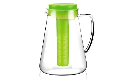 Tescoma džbán TEO 2.5 l, s vyluhováním a chlazením, zelená