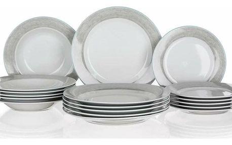 Banquet Shadow 18dílná jídelní sada