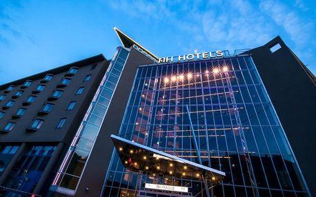 Moderní 4* hotel NH Prague City v centru Prahy se saunou a parkováním 3 dny / 2 noci, 2 os., snídaně