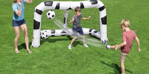 Fotbalová branka BESTWAY 213 x 117 x 125 cm s míči4
