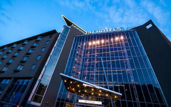 Moderní 4* hotel NH Prague City v centru Prahy se saunou a parkováním 3 dny / 2 noci, 2 osoby, snídaně