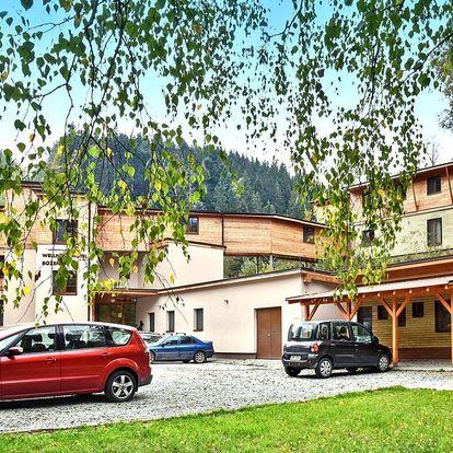 Odpočinek na Moravě s wellness a polopenzí