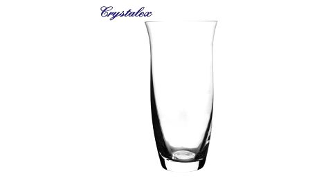 Crystalex Skleněná váza, 12,5 x 25,3 cm