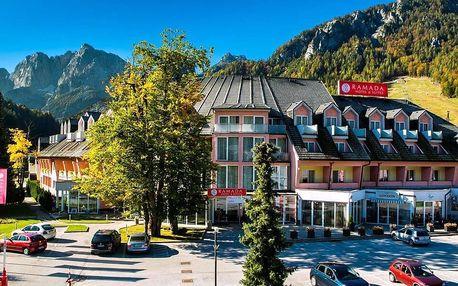 Kranjska Gora: 4* Ramada Hotel s polopenzí a bazény