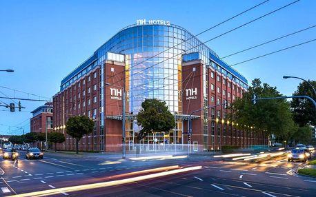 4* NH Hotel Dresden Neustadt se snídaní, saunou a fitness