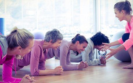 1 nebo 10 vstupů na lekce tance nebo cvičení