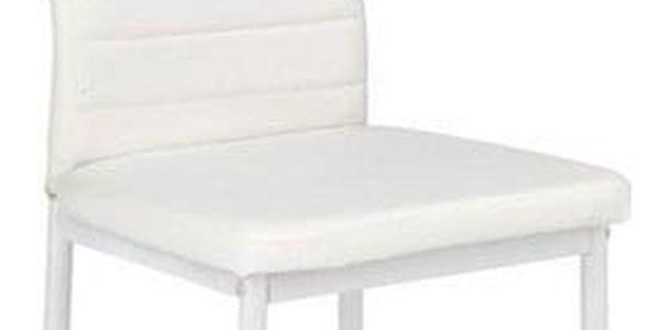 Kovová židle K70 bílá