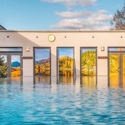 Oblíbené termály Malé Bielice s neomezeným vstupem do bazénového komplexu a fitness centra + polopenze
