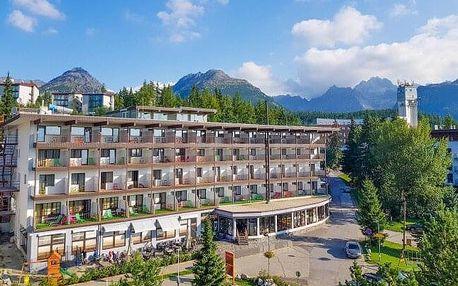 Pobyt u nádherného Štrbského Plesa: Hotel Toliar *** s polopenzí a vstupem do bohatého wellness s bazénem
