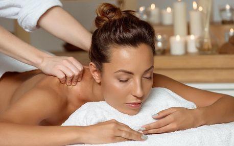 Klasická uvolňující masáž zad v délce 45–90 min.