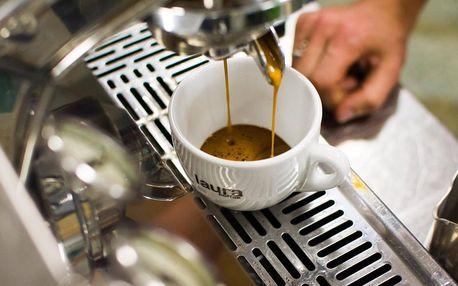 Kurz přípravy kávy a k tomu 250g balení domů