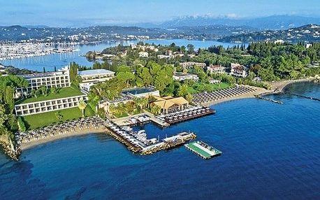 Řecko - Korfu letecky na 8-13 dnů