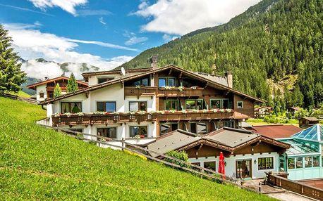 Tyrolská pohoda u Hintertuxu s polopenzí a saunou