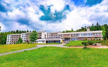 Luhačovice: Relaxační pobyt v Hotelu Harmonie *** s lázeňskými procedurami, fitness centrem a polopenzí