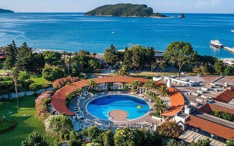 3* Hotel Slovenska Plaža v letovisku Budva se snídaní