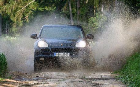 Terénní jízda v Porsche Cayenne S 350 PS: 15–60 min.