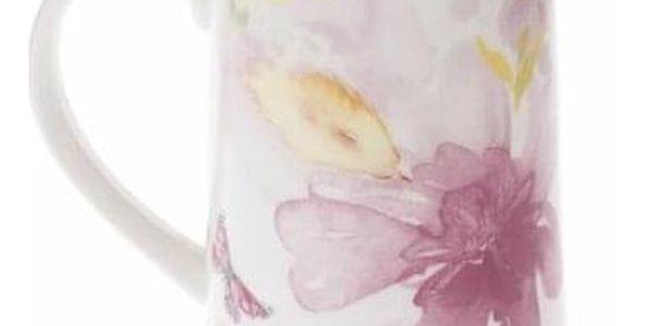 Porcelánový džbán Flower, 1,1 l