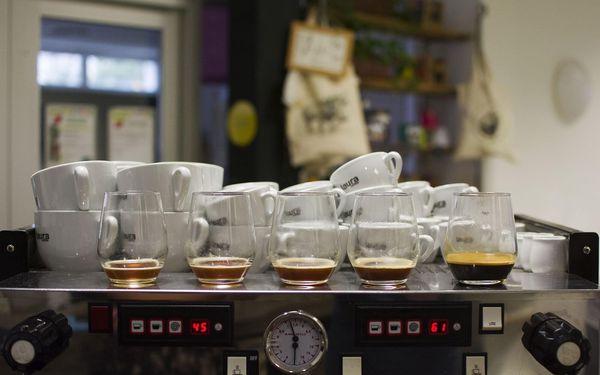 Kurz přípravy kávy a 1x 250 g zrnkové kávy Laura s sebou4