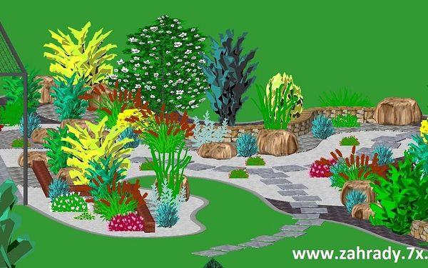 Vizualizace zahrady od zkušených architektů4