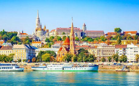 Metropole na Dunaji: bus a loď, 2 noci s polopenzí