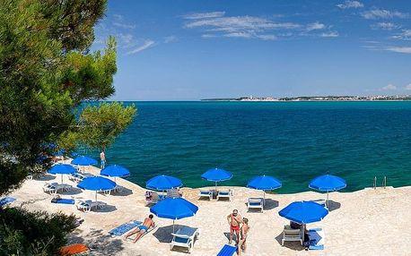 Chorvatsko - Lanterna na 2-17 dnů, polopenze